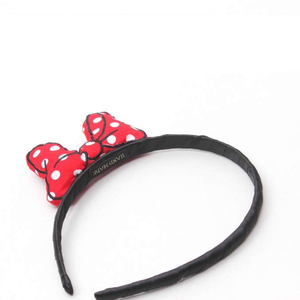 mouse embroidery headband