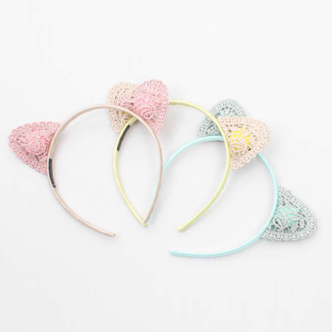 plump lace headband (3colours)
