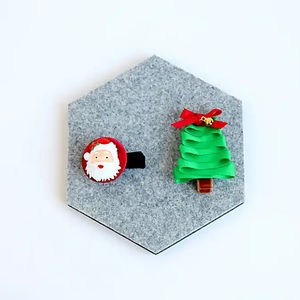 santa claus non-slip pin set