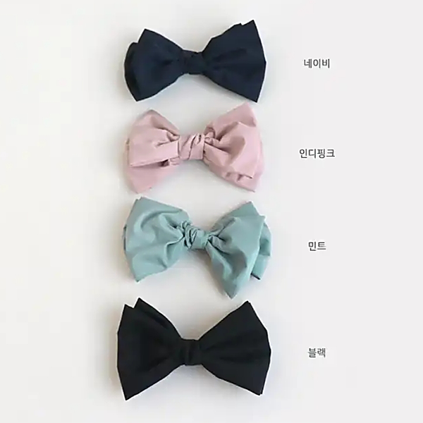 dainty ribbon pin (4 colours)