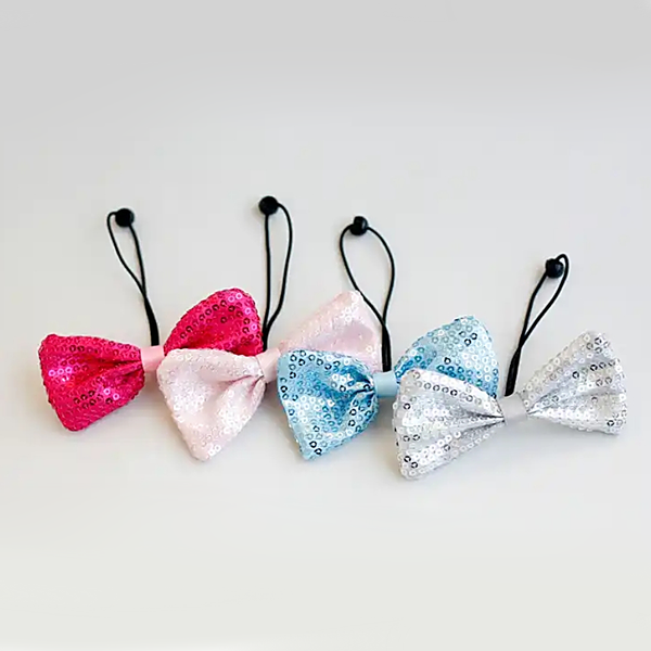sequin bling ribbon elastic (7 colours)