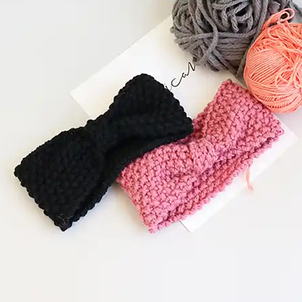 warm ribbon knitting knitting baby band (2 colours)