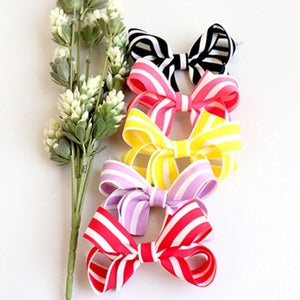 beryllium striped ribbon pin (5 colours)