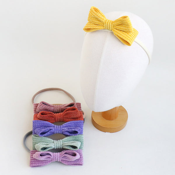soft ribbon soft baby band (6 colours)
