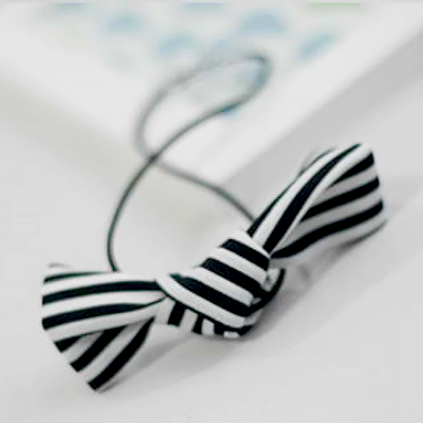 striped hair tie (3colours)