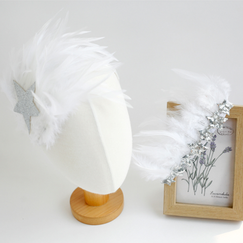 swan dream headband