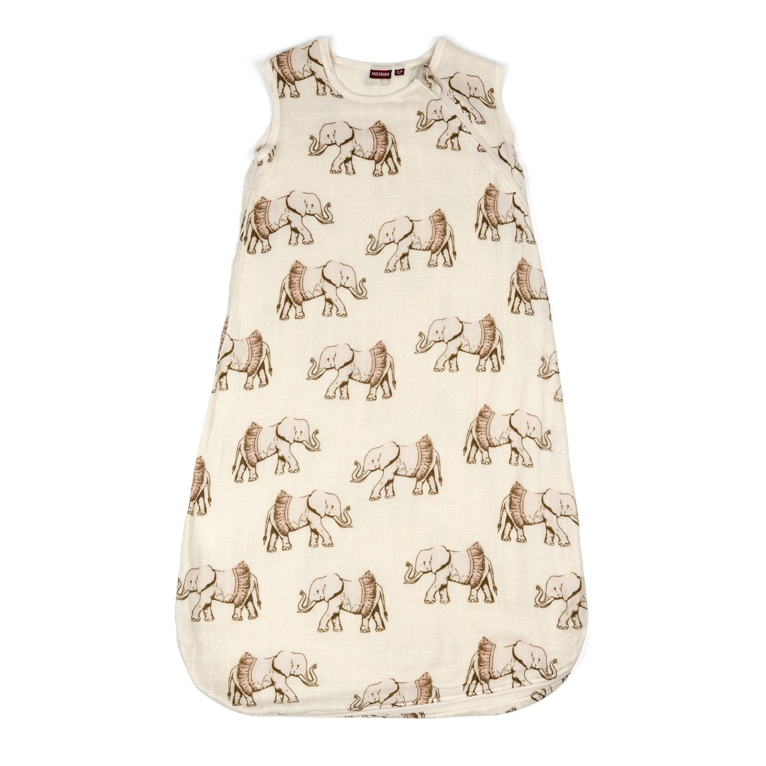Bamboo + Cotton Sleep Sack in Tutu Elephant