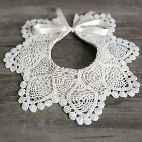 Lace Luxe Bib (3 designs)