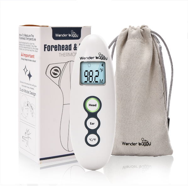 Wonder Buggy Infrared Forehead and Ear Thermometer