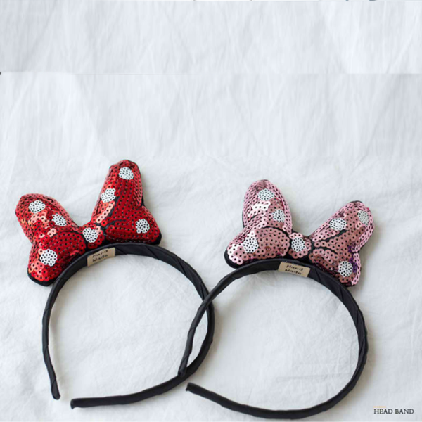 mouse sequin headband