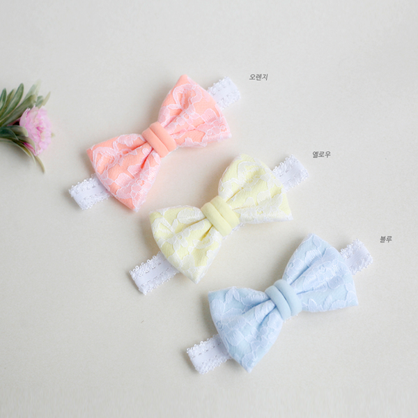 my treasure ribbon baby band (3 colours)