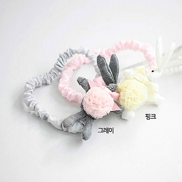 rabbit baby band (2 colours)