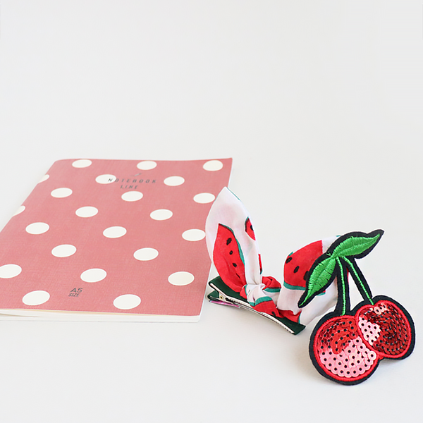 red fruit forceps pin and tin pins clipset