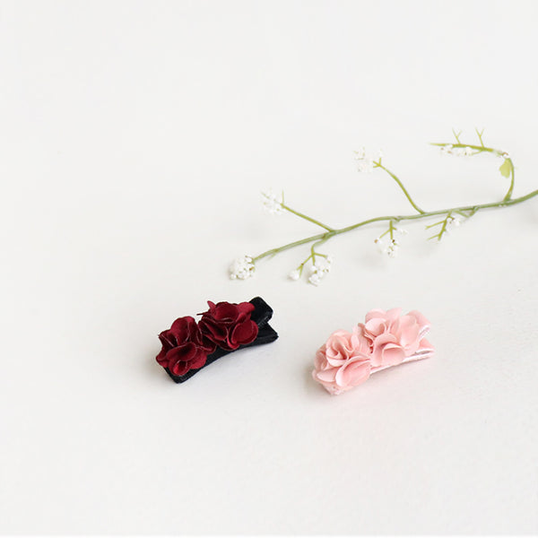 rose flower non-slip grip pin (2 colours)