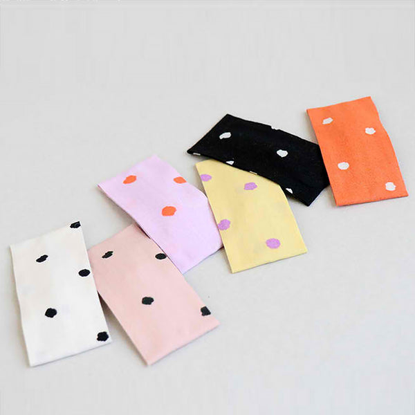 watercolour dot square pin (6 colours)