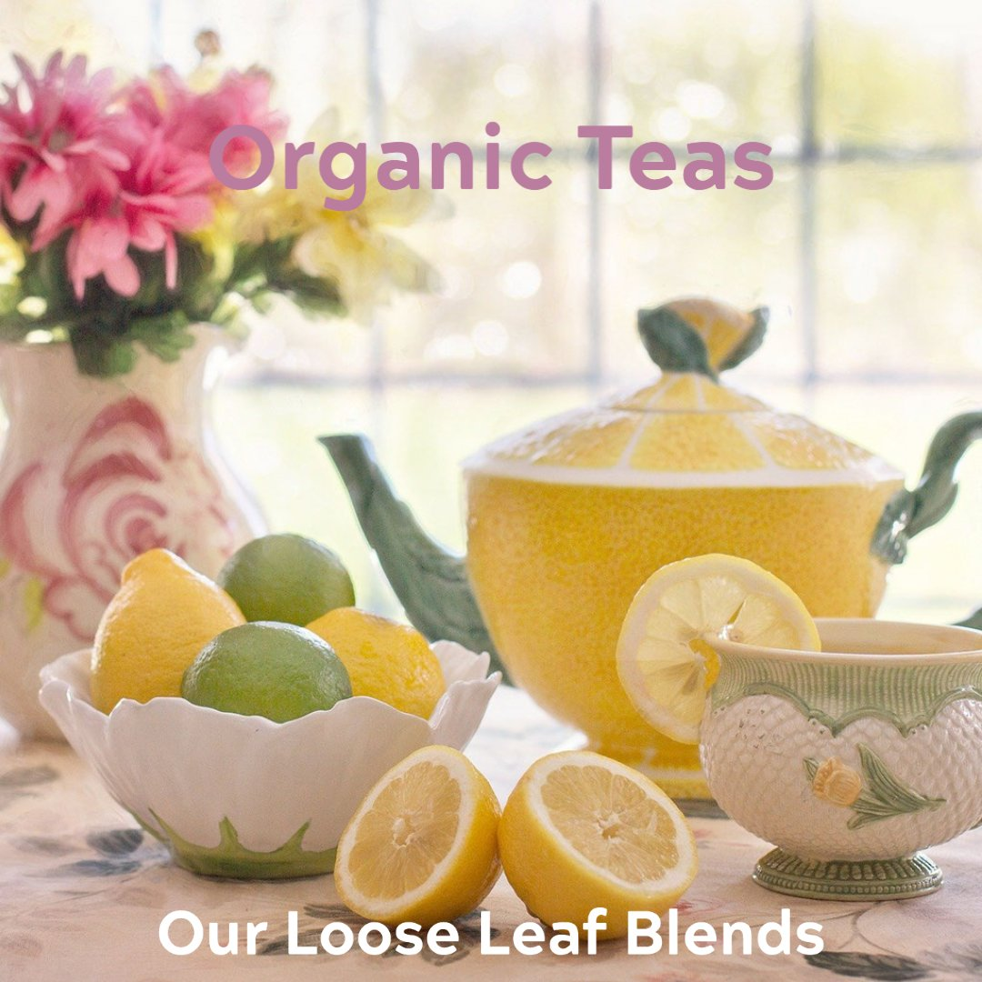 Tea: Organic Loose Leaf Teas by Heart and Soul Apothecary