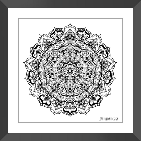 Mandala Love - Home Decor, Art & Apparel