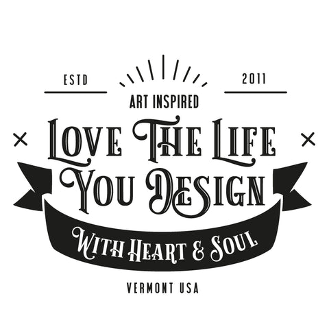 Love The Life You Design Logo
