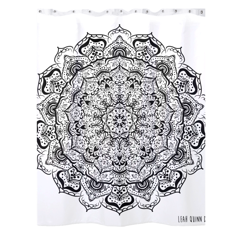 Mandala 21 Designer Shower Curtains