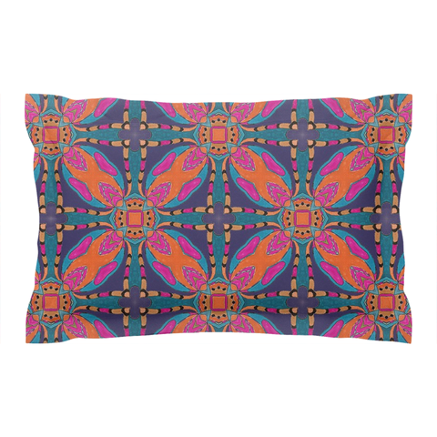 'Summer Night' Coordinating Pillow Shams