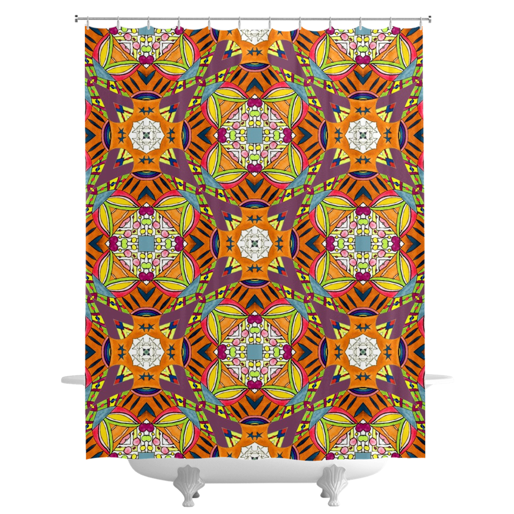 'Sylvia' Shower Curtains