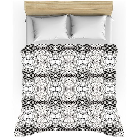 'Number 42' Black and White Duvet Covers