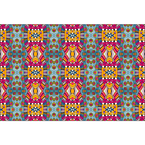 'Triloni' Fabric Fabric By The Yard from the 'Ladies of the North Circle' Collection by Leah Quinn