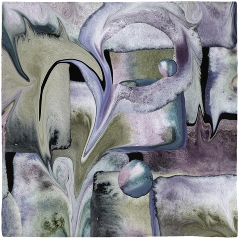 """Abstracts in Moody Greys"" Scarves"