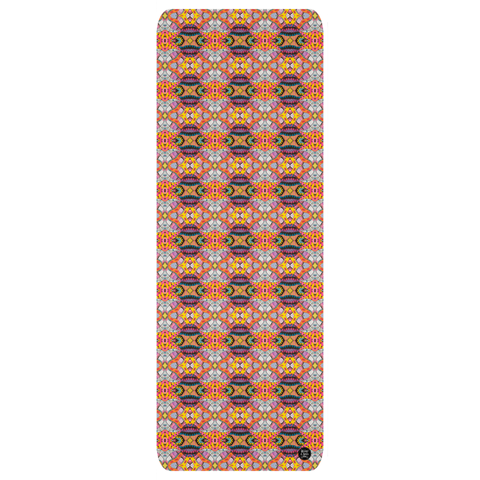 "Yoga Mat in ""Festiva"" Design"