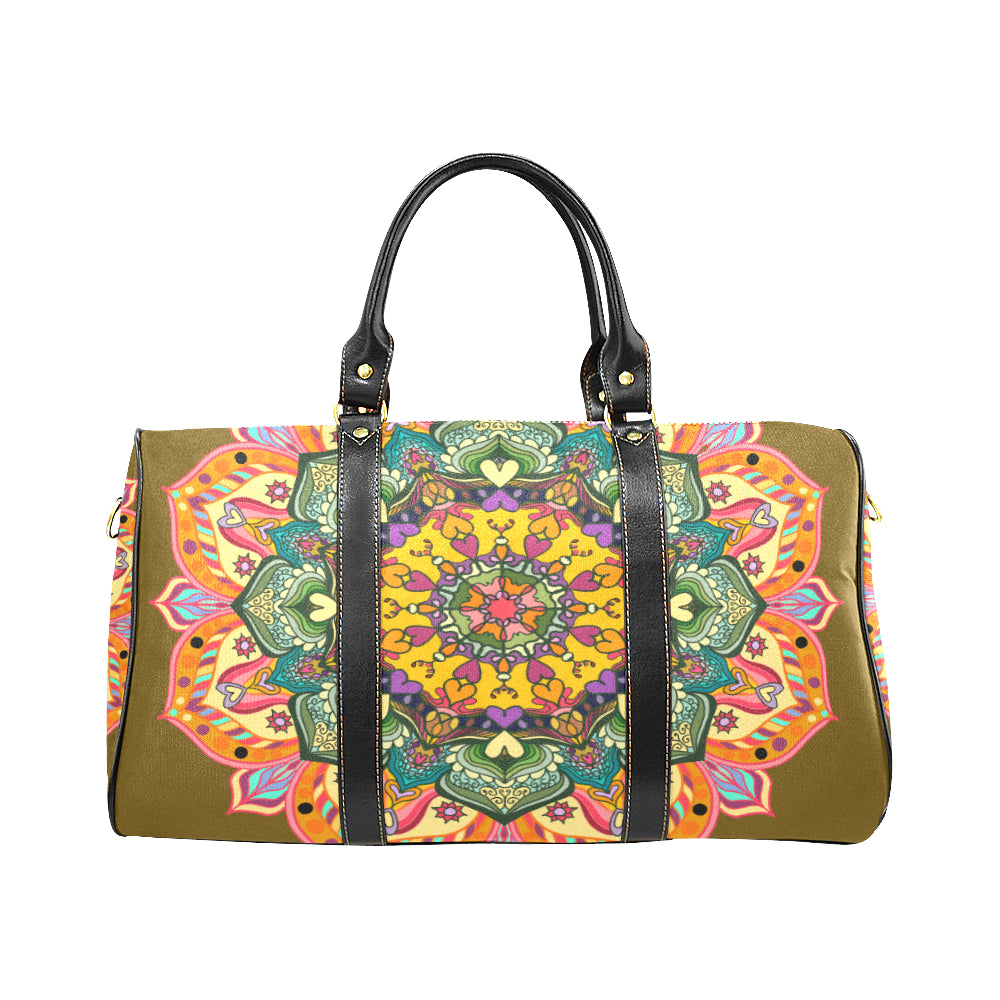 'MANDALA Number 23' Travel Bag