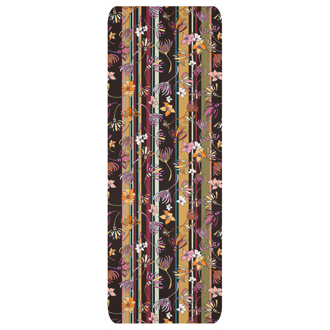 Yoga Mats - in Retro Boho Flower Design