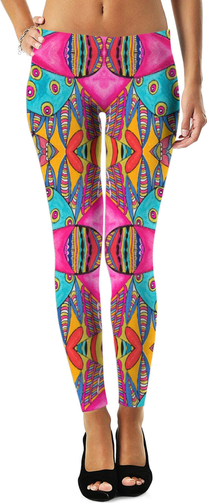 'Rachael' Yoga Leggings by Leah Quinn Design