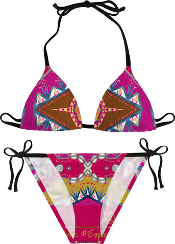 'Juicy June Magenta' Bikini
