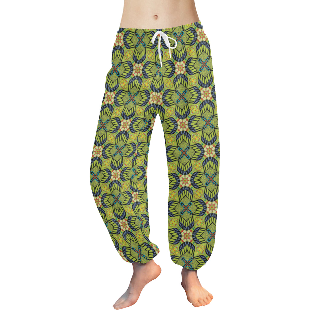 "Harem Pants ""Greener Pastures"" Design by Leah Quinn"