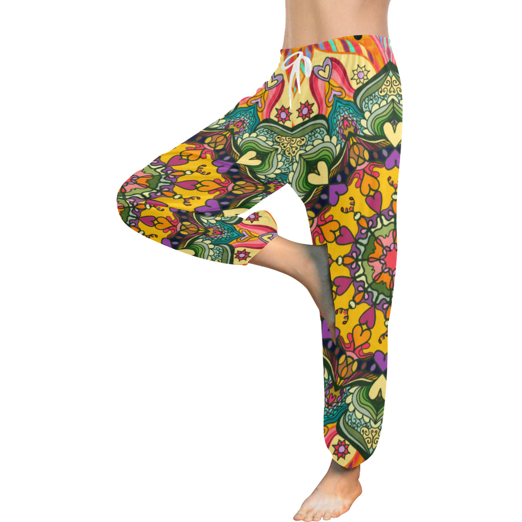 "Harem Pants  ""Mandala #23"" Design by Leah Quinn Design"