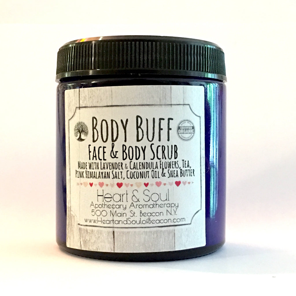 Body Buff  - the All Natural Face & Body Scrub with Manuka Honey