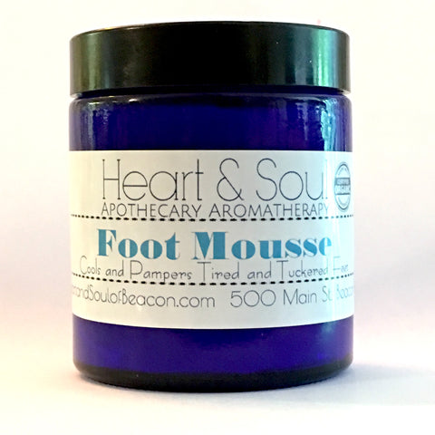 Foot Mousse - The Butter That Tickles Your Toes & Tuckered feet