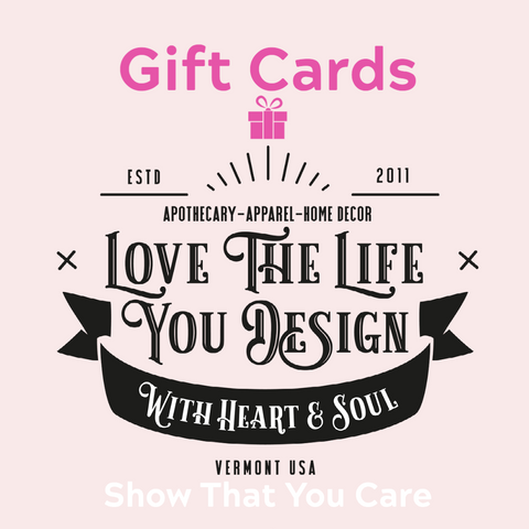 Gift Cards for Heart & Soul Apothecary