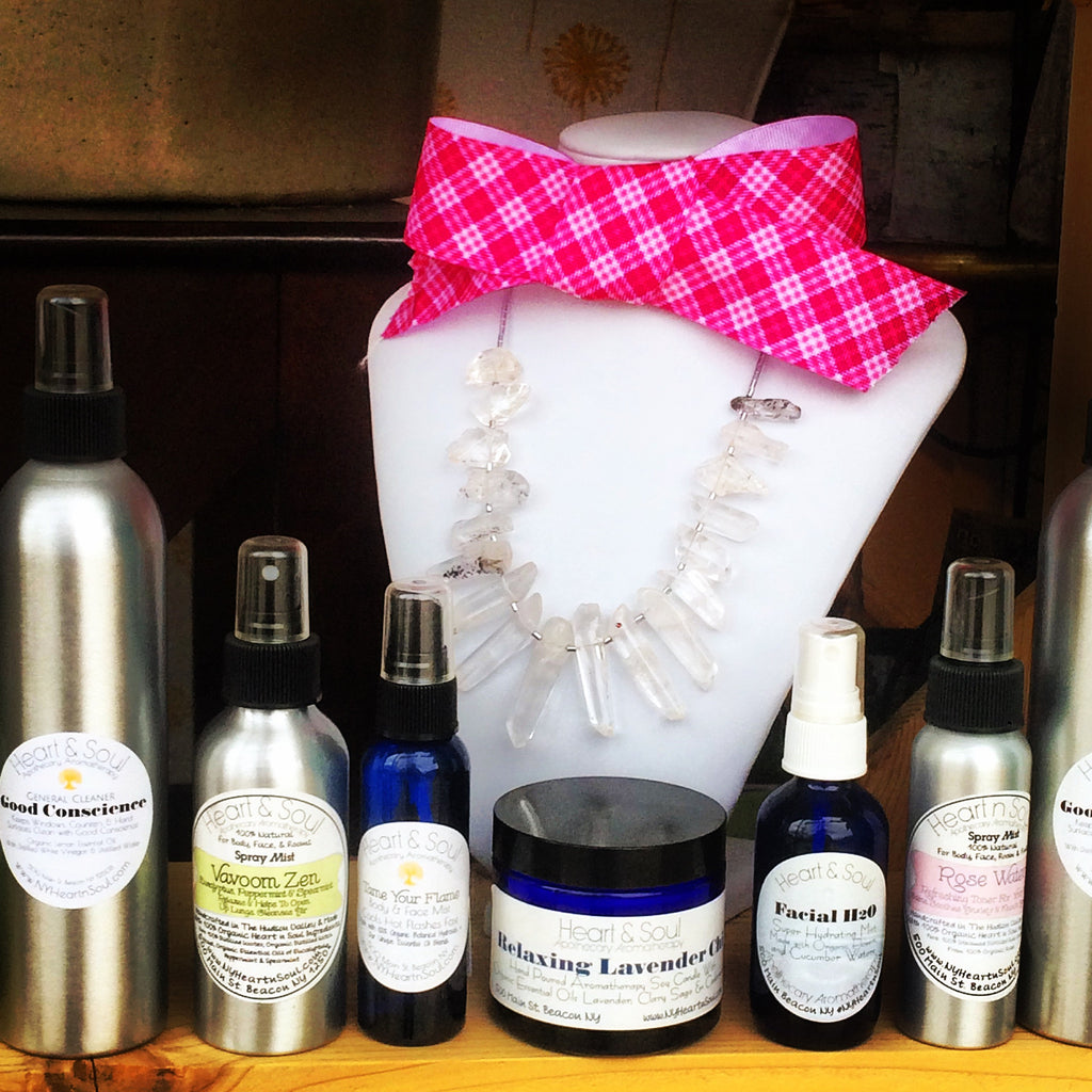 Aromatherapy Spray Mists by Heart and Soul Apothecary