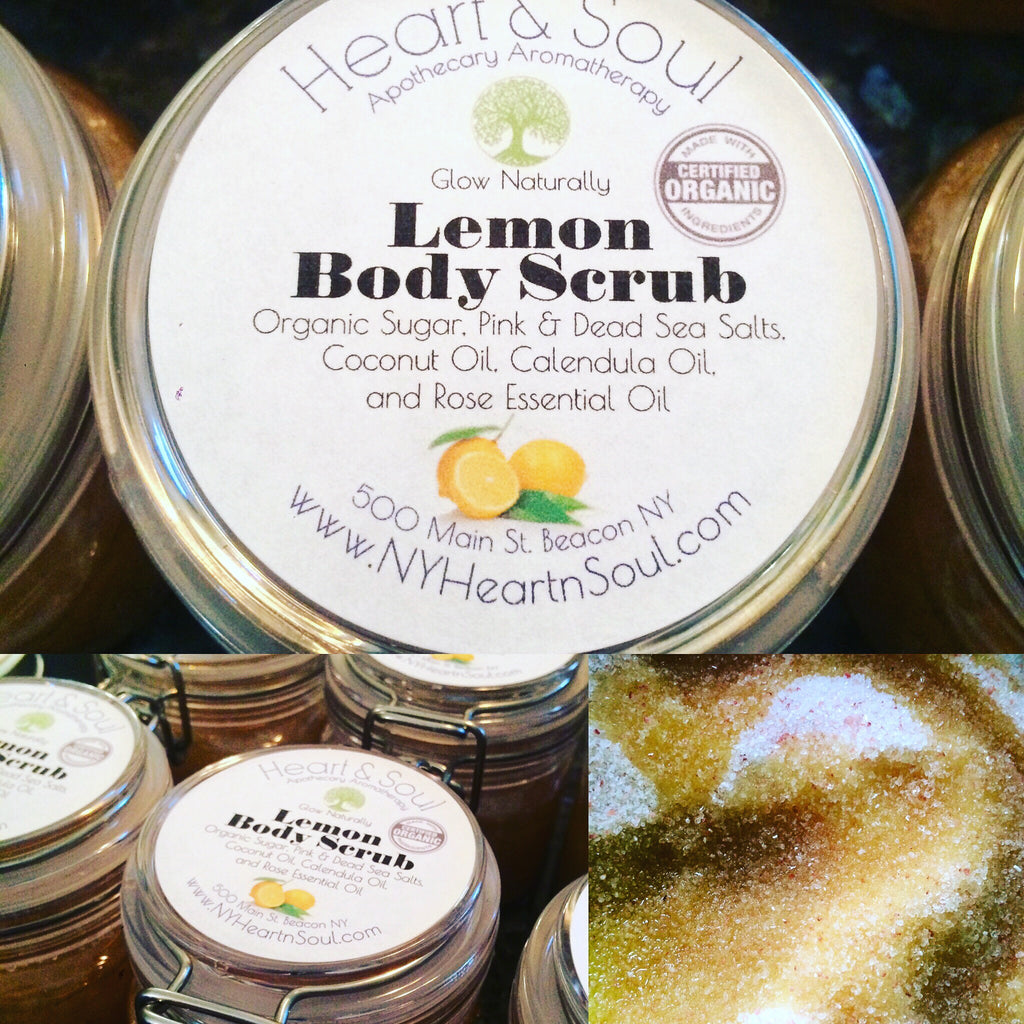Sugar & Salt Body Scrubs  - Glow Naturally