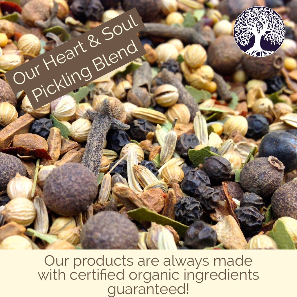 Herb & Spice Blends: Certified Organic by Heart and Soul Apothecary