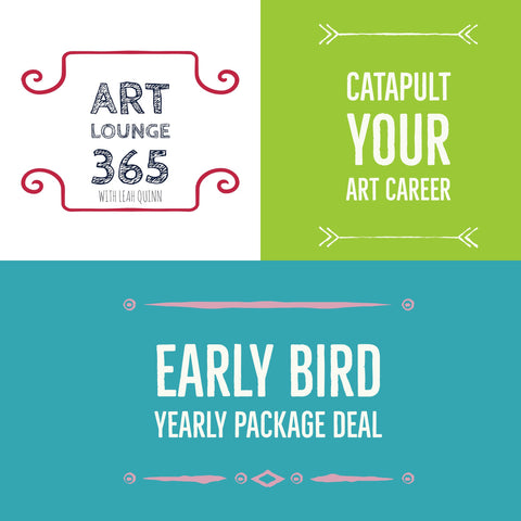 Art Lounge 365 Yearly Package of Art Career Goodies