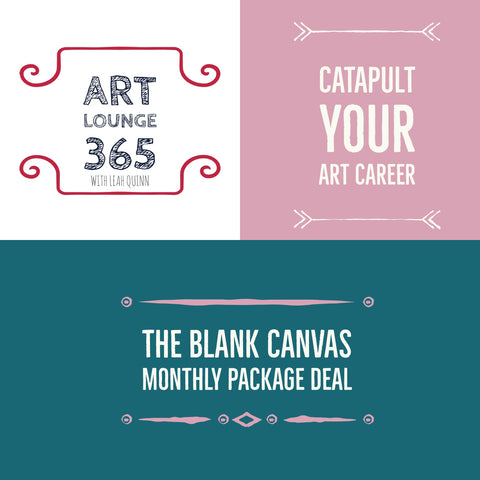 Art Lounge 365 Monthly Package of Art Career Goodies