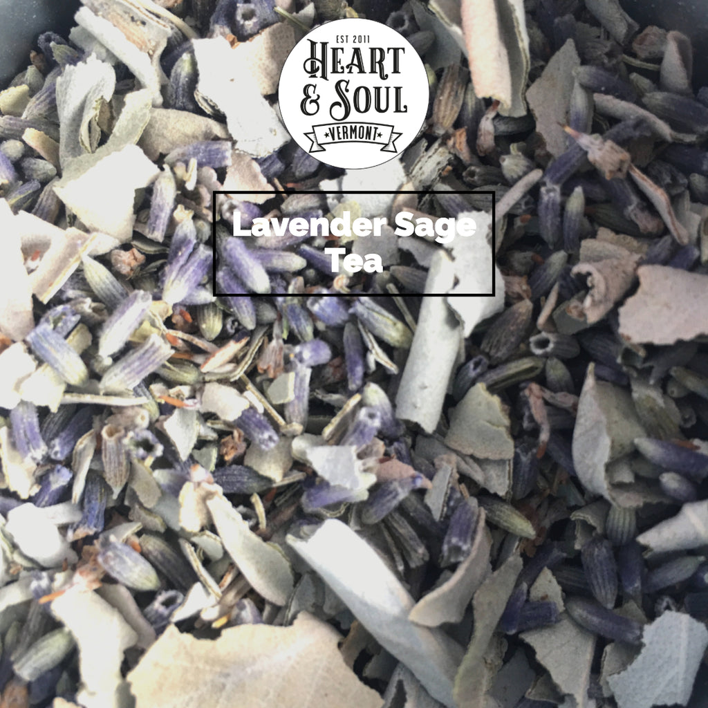 Lavender Sage Tea by Heart and Soul Apothecary