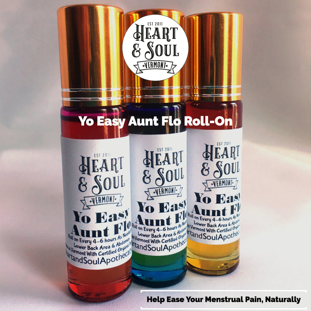 Yo Easy Aunt Flo Roll-on For Menstrual Pain Relief