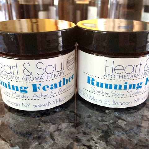 Running Feather Balm