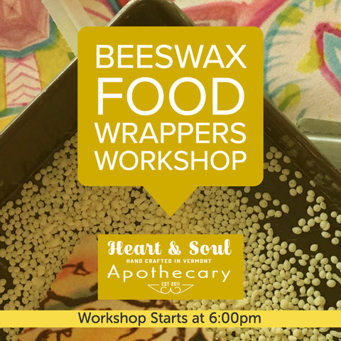 Beeswax Food Wrappers Workshop