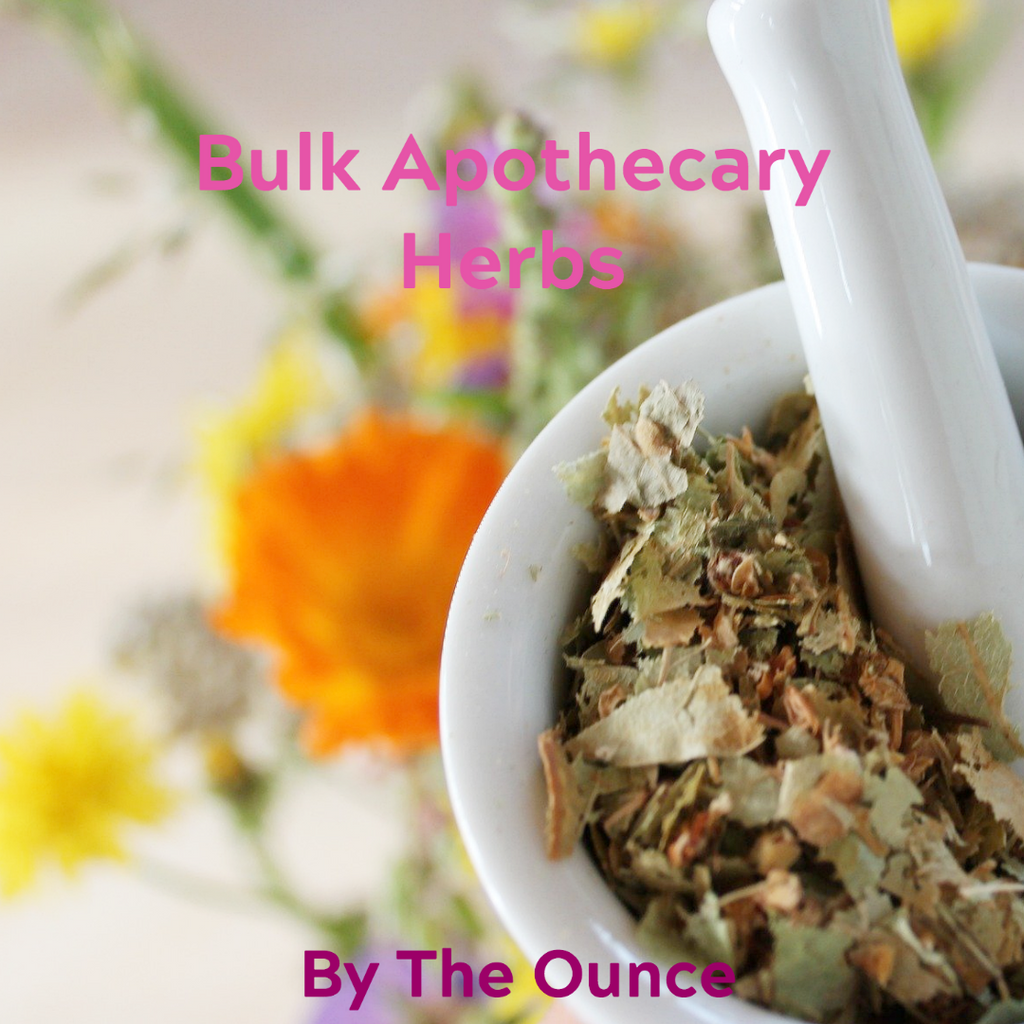 Organic Bulk Apothecary Herbs Organic by the ounce