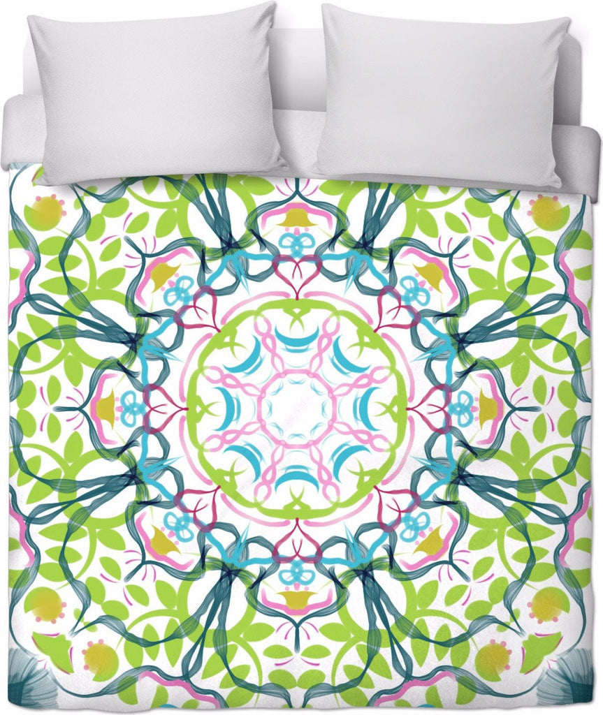 'Mandala Number 6' Duvet Covers