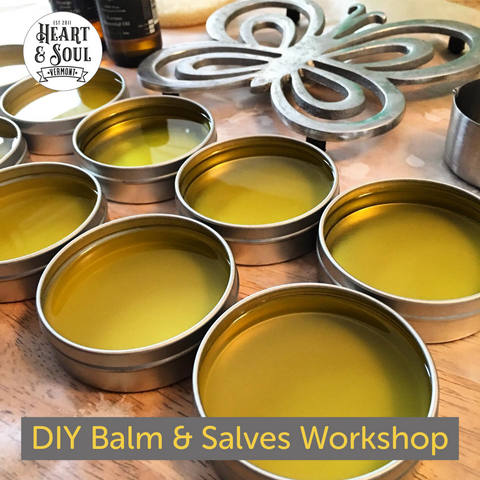 Learn To Make Balms & Salves